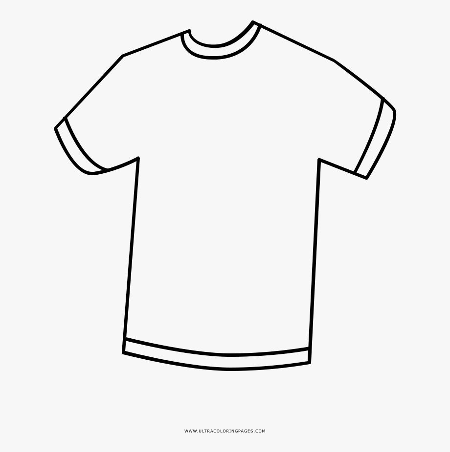 Collared shirt clipart vector free Polo Shirt Clipart Colouring - T Shirt Png Coloring #846576 - Free ... vector free