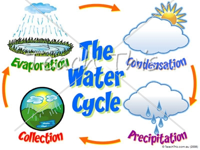 Collection water cycle clipart jpg library Water cycle for kids clipart - ClipartFox jpg library