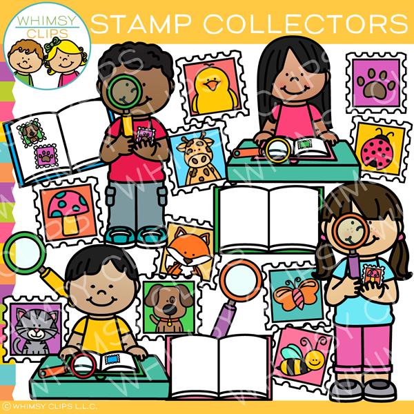 Collectors clipart clip art freeuse Stamp Collector Kids Clip Art clip art freeuse