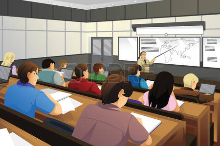 College classroom clipart picture black and white stock College students in classroom clipart 6 » Clipart Station picture black and white stock