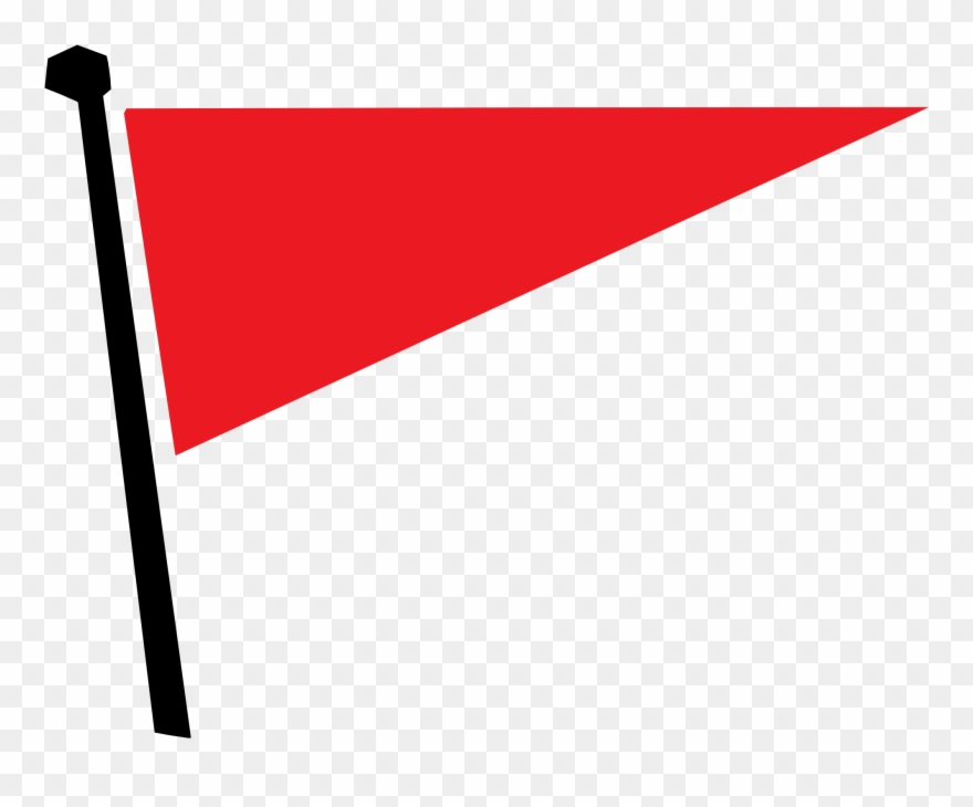 College flag clipart clipart free Red Flag Triangle Pennon Banner - Red Triangle Flag Png Clipart ... clipart free