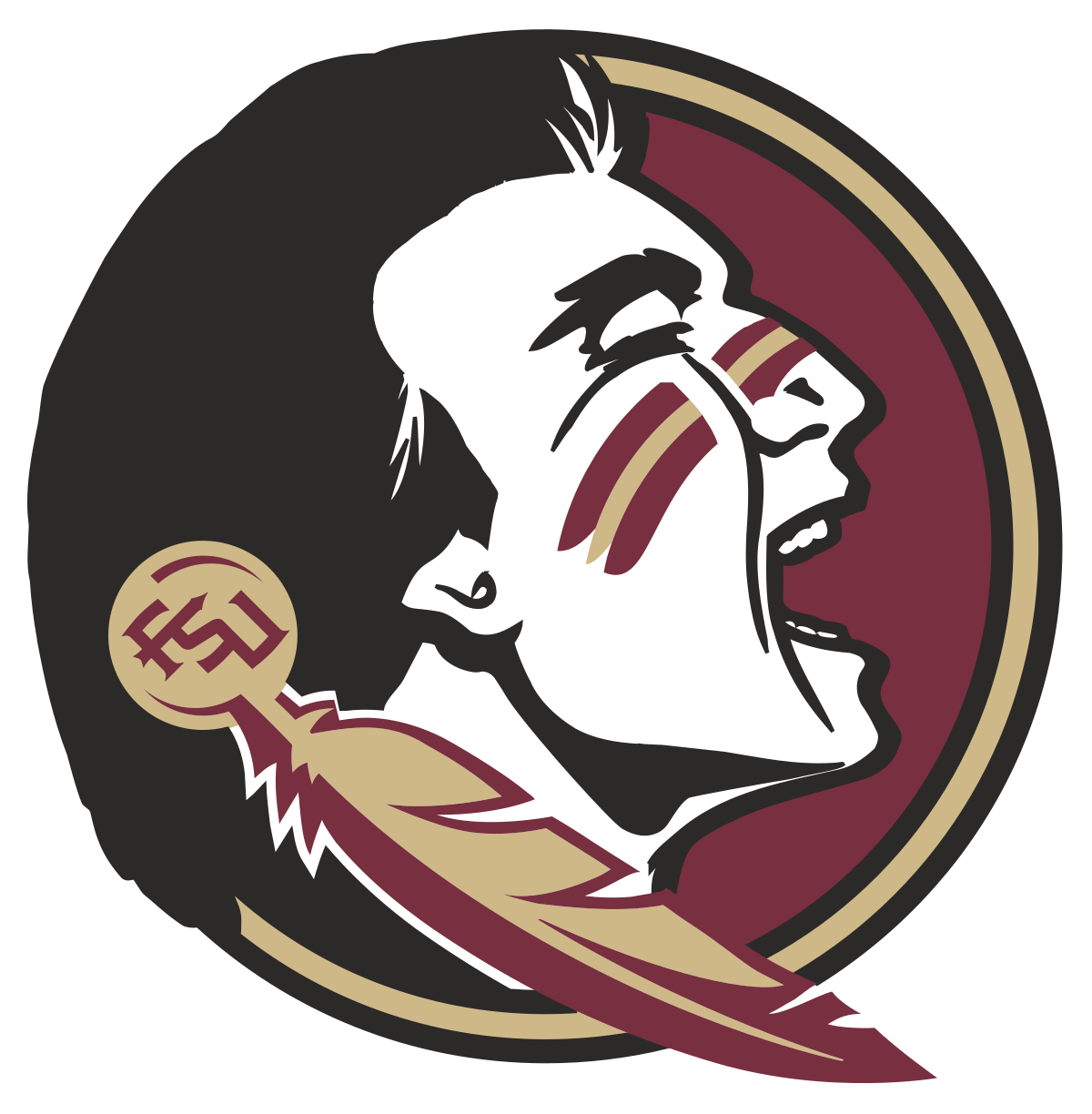College football clipart royalty free Florida State University Mascot Clipart & Florida State University ... royalty free