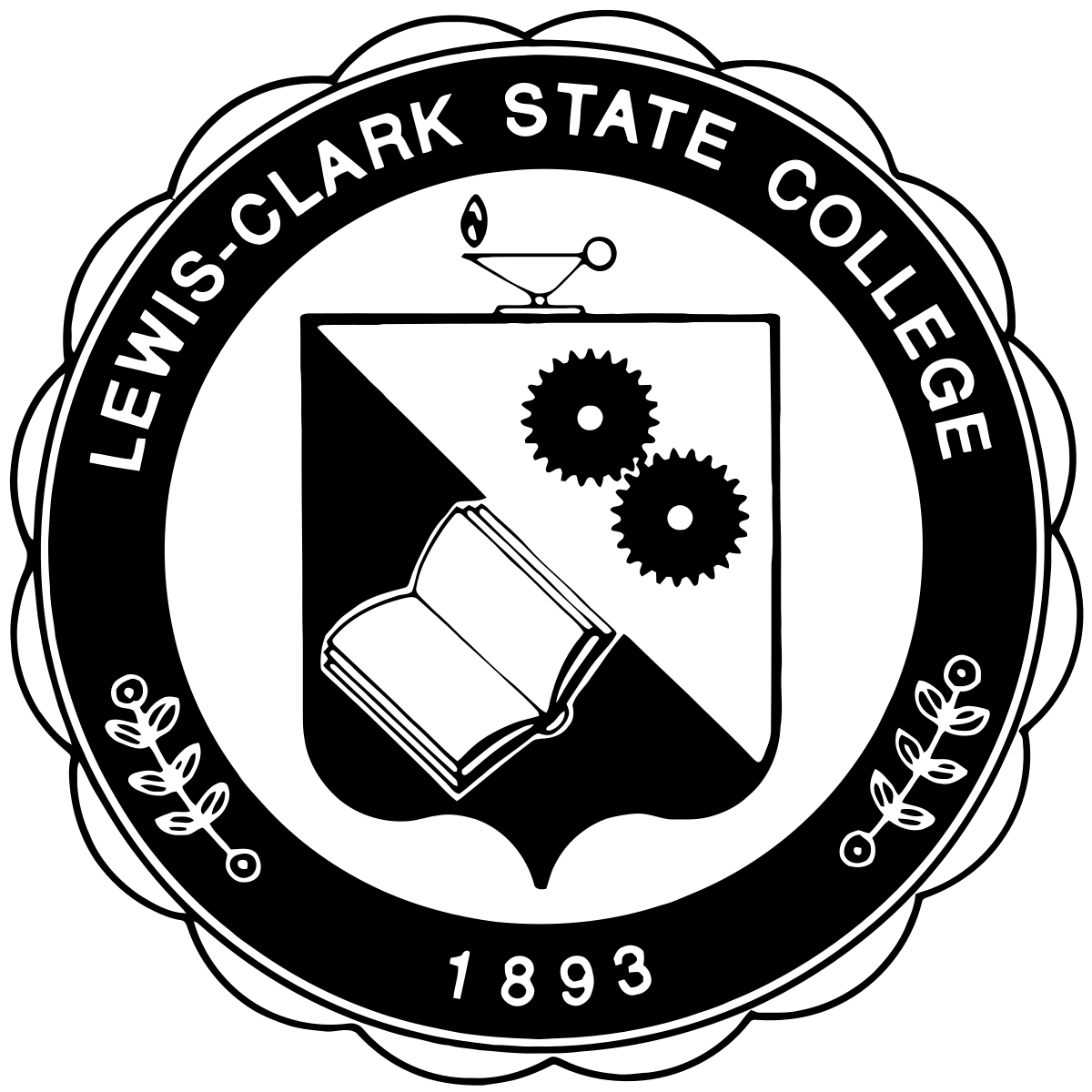 College money black and white clipart clipart royalty free stock Lewis–Clark State College - Wikipedia clipart royalty free stock
