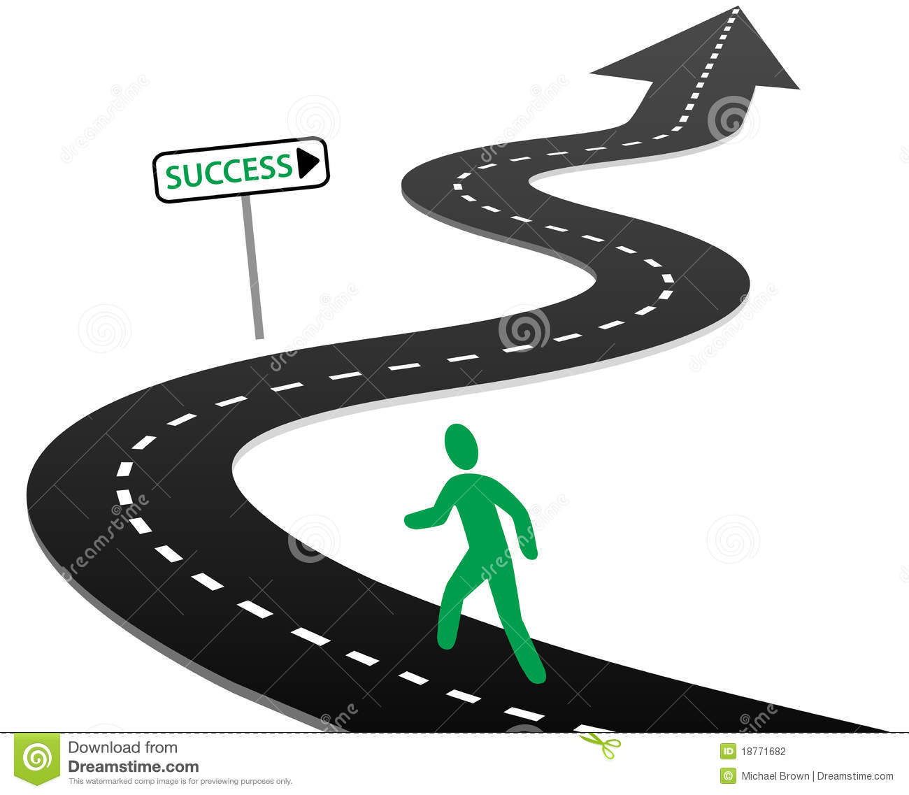 College road map clipart. Success cliparts life is