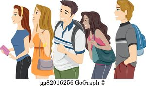 College student clipart free banner freeuse download College Students Clip Art - Royalty Free - GoGraph banner freeuse download