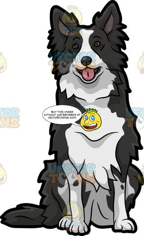 Collie clipart free vector free Royalty Free Images – Tagged \