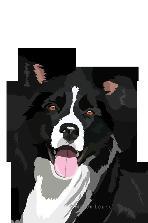 Collie dog clipart vector library border collie by Maaira on DeviantArt   Border collie   Pinterest ... vector library
