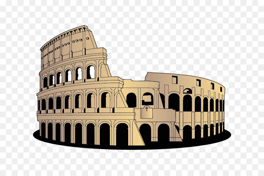 Colliseum clipart banner free Building Cartoon png download - 842*596 - Free Transparent Colosseum ... banner free