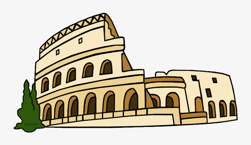 Colliseum clipart image free library Rome Clip Art By Phillip Martin - Colosseum Clipart Transparent PNG ... image free library