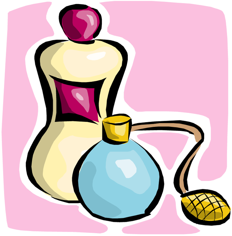 Colonge clipart clipart black and white Drawing Of Perfume And Cologne Bottles clipart free image clipart black and white