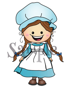 Colonial children clipart clipart transparent library Clipart - Colonial Kids {Lilly Silly Billy} clipart transparent library