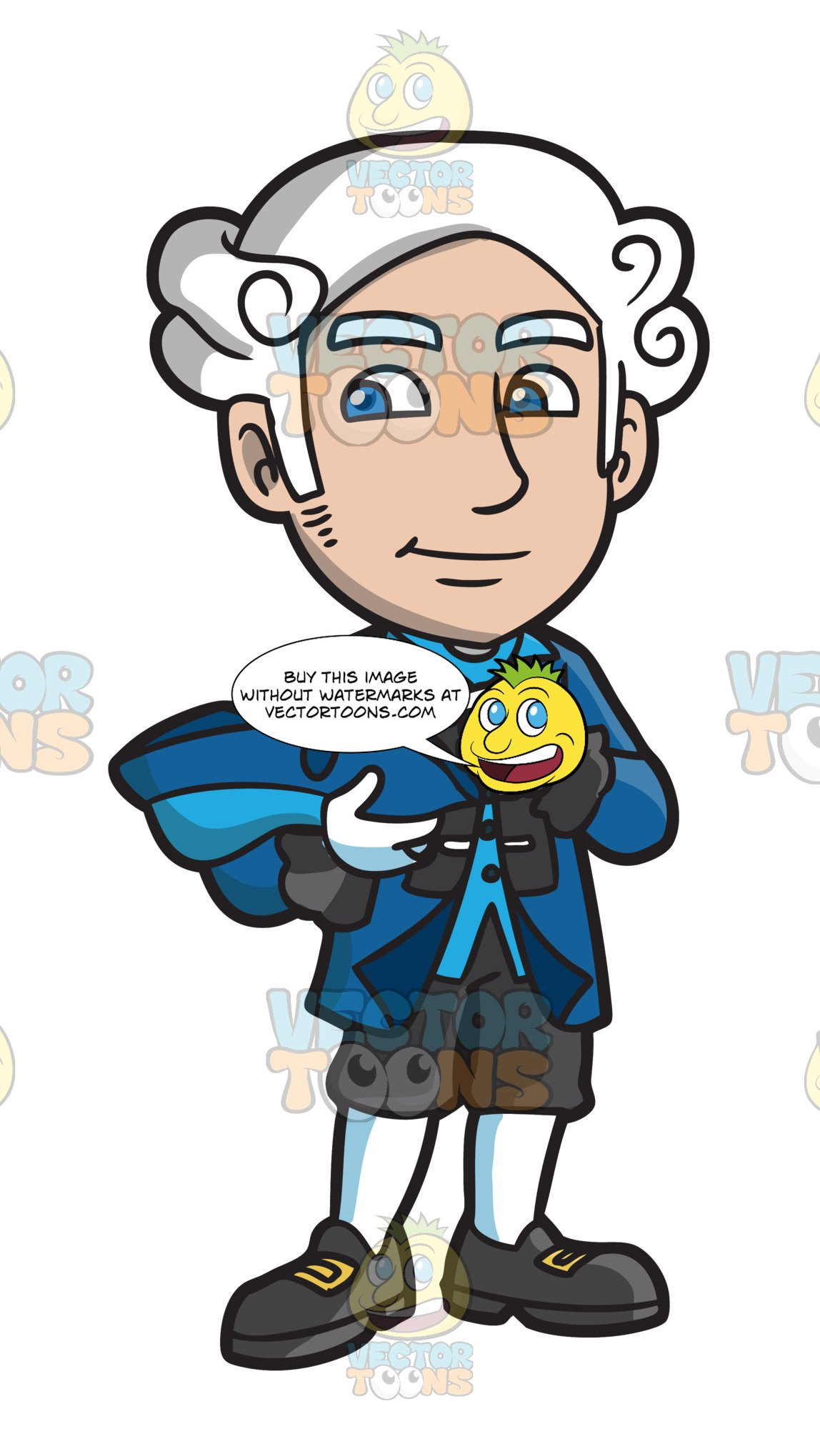 Colonial man clipart clip art free library A Nice Looking Colonial Man clip art free library