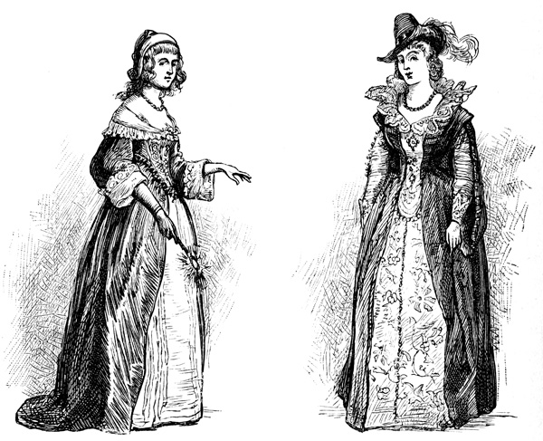 Colonial women clipart graphic transparent stock Colonial Women graphic transparent stock