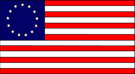 Colony us flag clipart jpg free stock Colonial flag clip art - ClipartFox jpg free stock