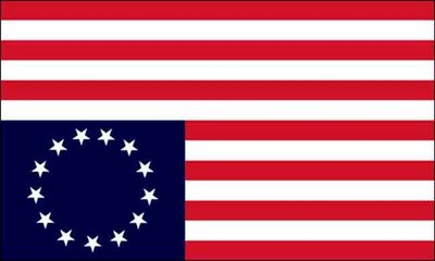 Colony us flag clipart.  original colonies am