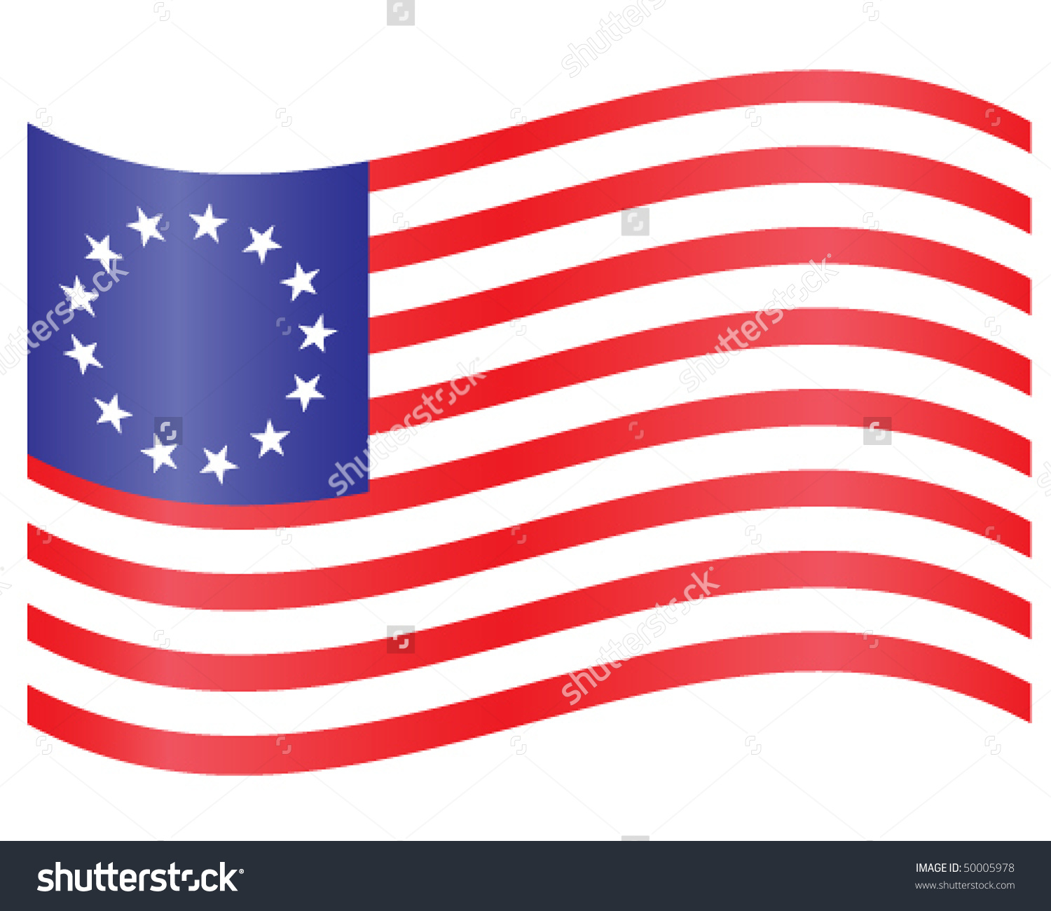 Colony us flag clipart svg freeuse download Thirteen colonies flag clipart - ClipartFest svg freeuse download