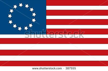 The thirteen clipartfest has. Colony us flag clipart