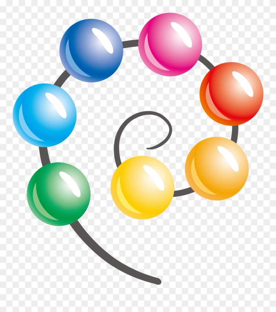 Color ball clipart clip black and white download Sphere Clipart Color Ball - Color Ball Vector Png Transparent Png ... clip black and white download
