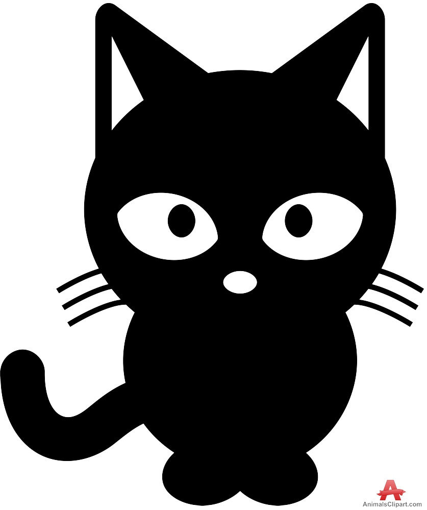 Color black clipart clipart free library Cat black and white black cat clipart cat sleep pencil and in color ... clipart free library
