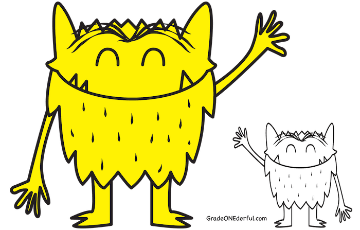 Monster book clipart clip art free stock Feelings Are Important: The Color Monster Book Review and Activities ... clip art free stock