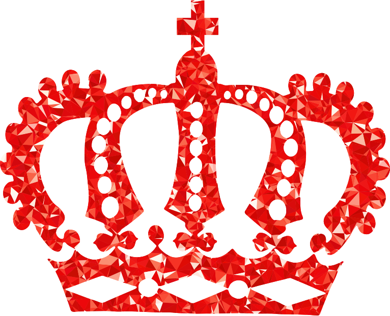 Crown red clipart graphic transparent stock Clipart - Ruby Royal Crown graphic transparent stock