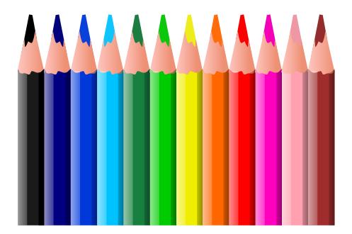 Color graphic clipart clip art freeuse download Free Colored Pencil Clipart - Public Domain Colored Pencil clip ... clip art freeuse download