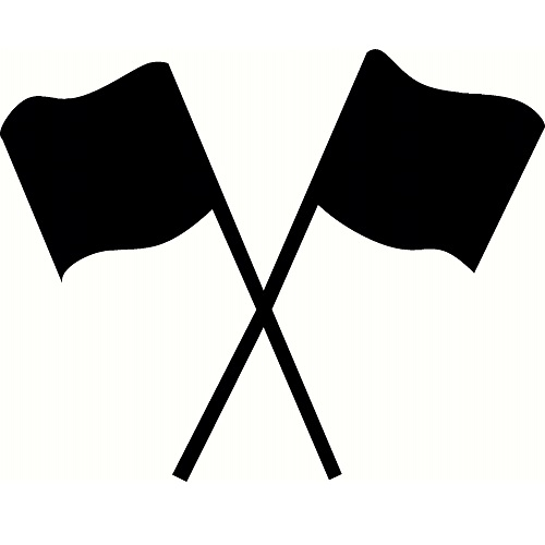 Color guard flag clipart jpg black and white library Color guard flags clipart 2 » Clipart Station jpg black and white library