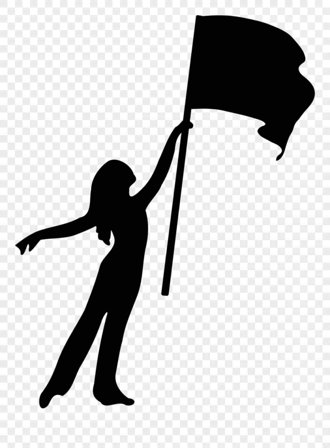 Color guard flag clipart royalty free stock Iimjclipart Color Guard Flag Girl Silhouette Color Guard | SOIDERGI royalty free stock