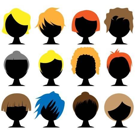 Hair dye clipart jpg transparent download Hair Color Cliparts 6 - 450 X 450 - Making-The-Web.com jpg transparent download