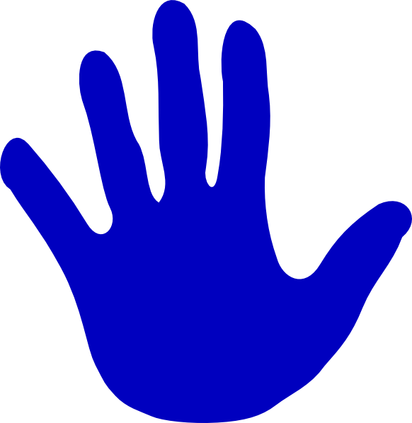 Color hand clipart vector royalty free stock Hands - Various Colors Clip Art at Clker.com - vector clip art ... vector royalty free stock