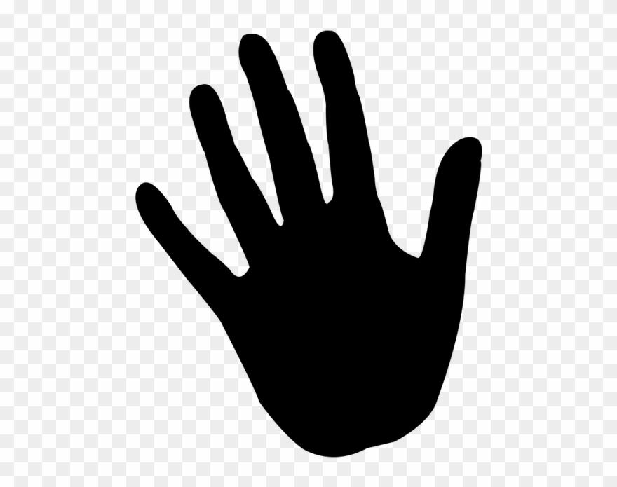 Color hand clipart transparent Hand, Reprint, Icon, Silhouette, Handprint, Color - Handprint ... transparent