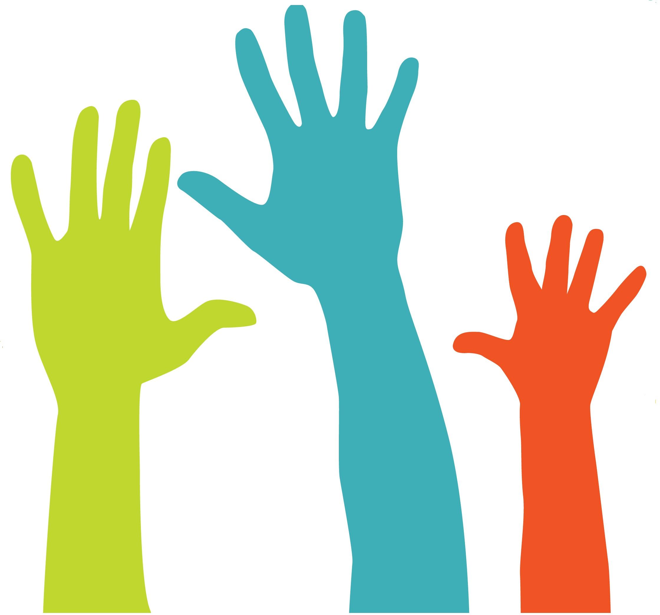 Color hand clipart jpg transparent Raise Hand Clipart   Free download best Raise Hand Clipart on ... jpg transparent