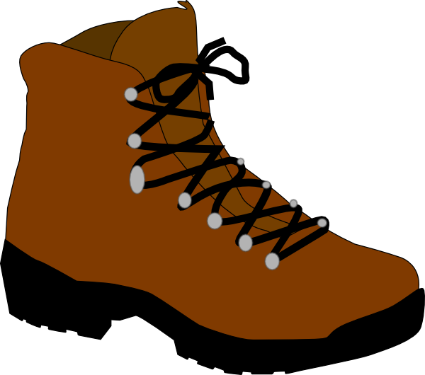 Color hiking book clipart vector freeuse download Hiking Boot Drawing at GetDrawings.com   Free for personal use ... vector freeuse download