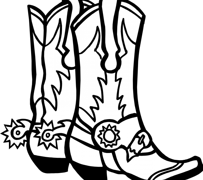 Color hiking book clipart png freeuse Cowboy Boot Drawing at GetDrawings.com   Free for personal use ... png freeuse