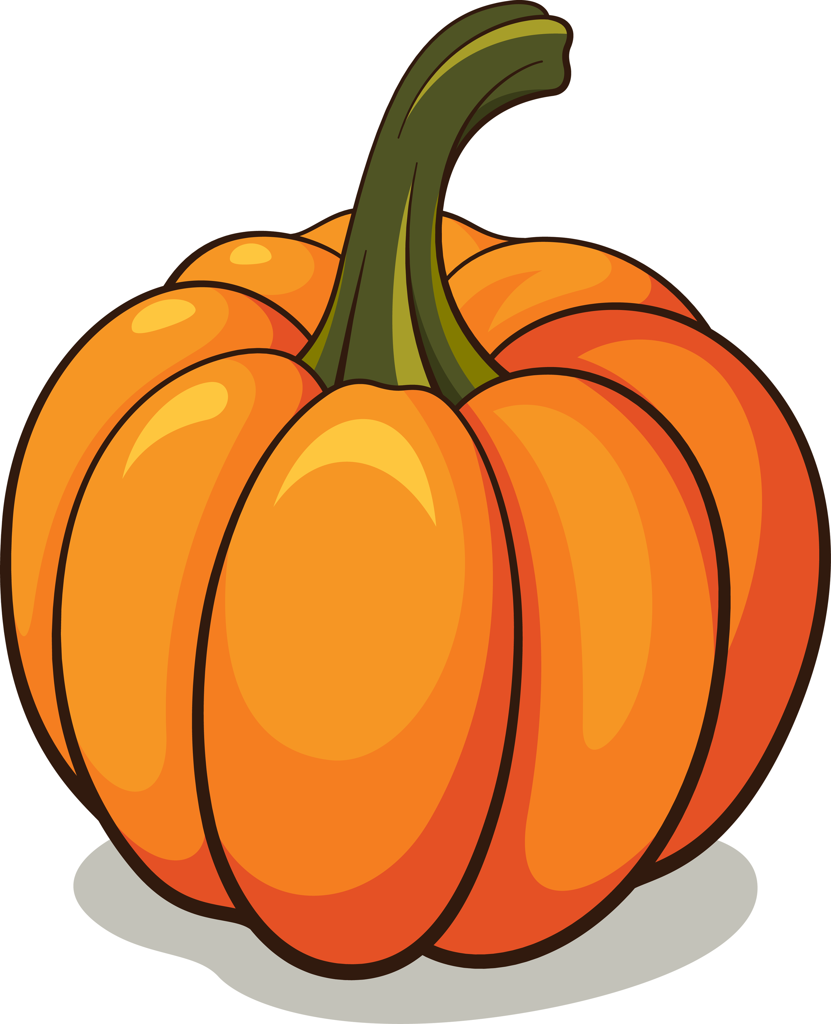 Harvest pumpkin clipart picture black and white Pumpkin Clipart Png | cyberuse picture black and white
