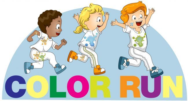 Color run clipart png library download Color Run clip art.   Clip Art   Clip art, Pto today, Art png library download