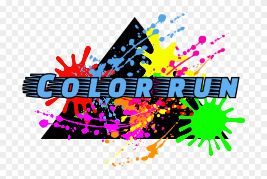 Color run clipart picture royalty free library This Is Our 5th Year Hosting The Color Run And The - Lembra Aquela ... picture royalty free library