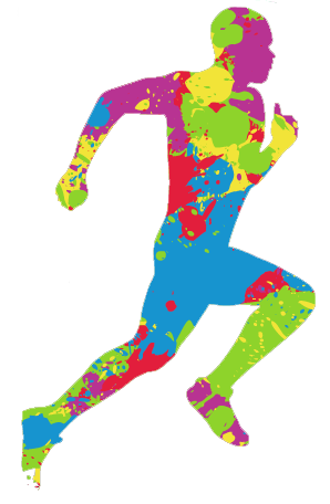 Color run clipart clip art library stock BJHS hosting color run Nov. 22   Local News   athensreview.com clip art library stock