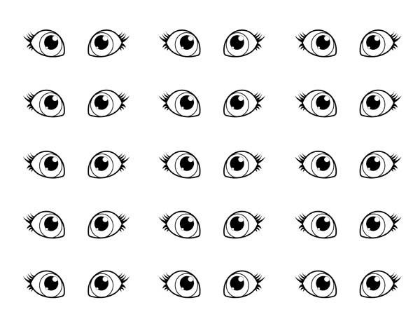 Color sheet clipart eyes graphic library download eye coloring pages for kids eyes coloring pages clipart clipart ... graphic library download