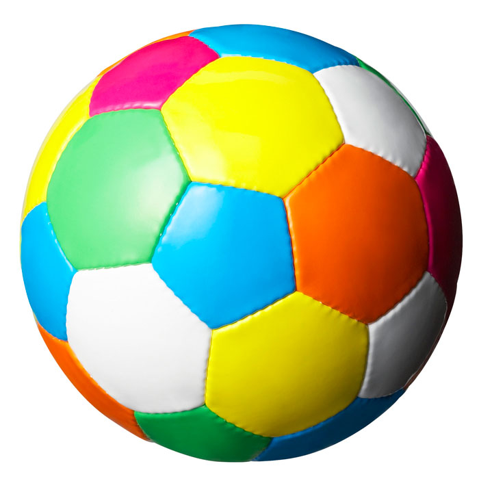 Just luv d on. Color soccer ball clipart