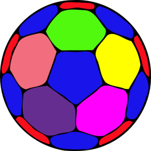 Color soccer ball clipart black and white library Color soccer ball clipart - ClipartFox black and white library