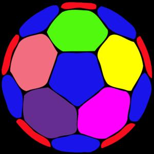 Clipartfox handball a image. Color soccer ball clipart