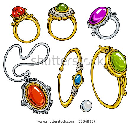 Color stock clipart art jpg download Cartoon Jewelryclipart Color Stock Vector 53049337 - Shutterstock jpg download