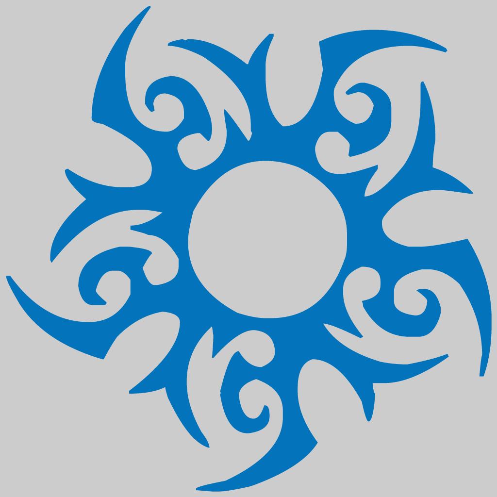 Color sun tattoo clipart clip royalty free library Symbol: Tribal Sun #1 | Pinterest | Tattoo, Tribal sun and Tatting clip royalty free library