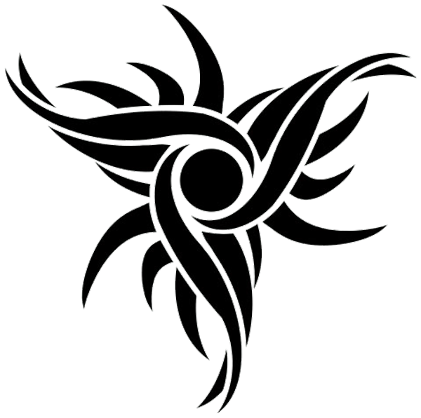 Tribal black and white clipart sun clip free download http://waktattoos.com/large/Capricorn_tattoo_337.png | Tattoos ... clip free download
