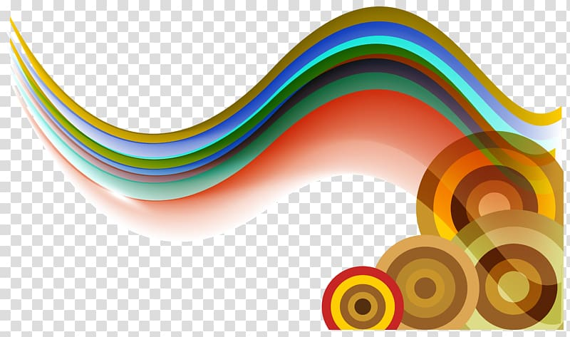 Wave color clipart clip art royalty free Multicolored painting, Yellow Graphic design Wind wave Wave , Color ... clip art royalty free