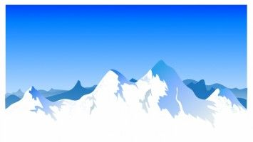 Colorado mountains clipart free download Mountain Range Background   clipart   Vector free, Vector free ... free download