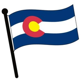 Colorado state clipart svg library stock Download colorado state flag clip art clipart Flag of Colorado Clip art svg library stock