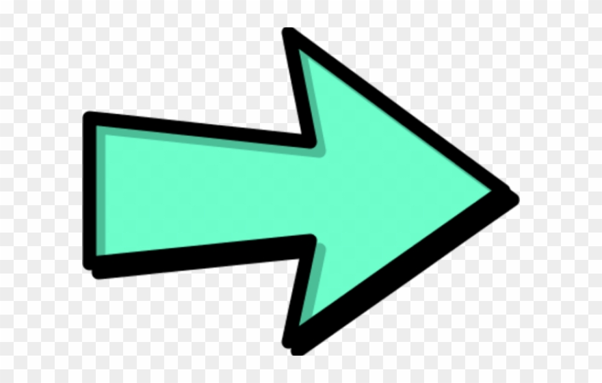 Colorful arrow clipart vector transparent library Right Clipart Colorful Arrow - Sign Arrow Clip Art - Png Download ... vector transparent library
