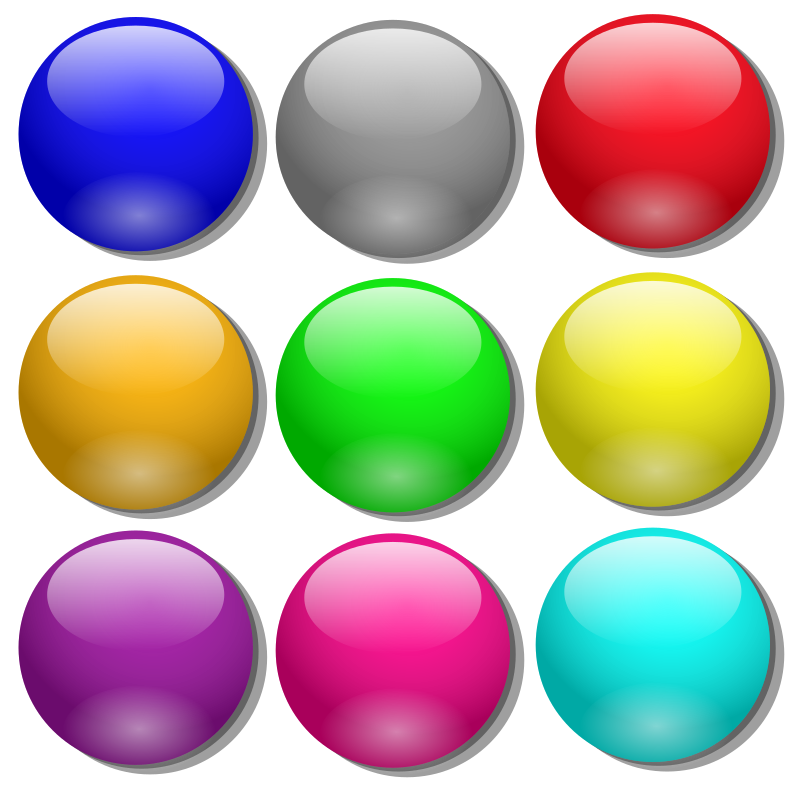Colored balls clipart graphic free library FH:16 | Colored balls 3D | aljanh.net on the desktop graphic free library